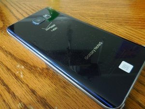 Note 5 Back Glass