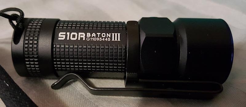 Olight S10R Side Shot