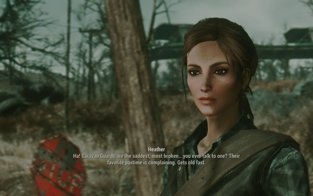 Heather Casdin A Fallout 4 Companion Mod Review