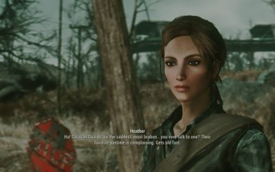 Heather Casdin: A Fallout 4 Companion Mod Review