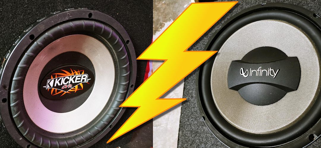 Kicker vs. Infinity Kappa: A Shootout With Two Old Subwoofers