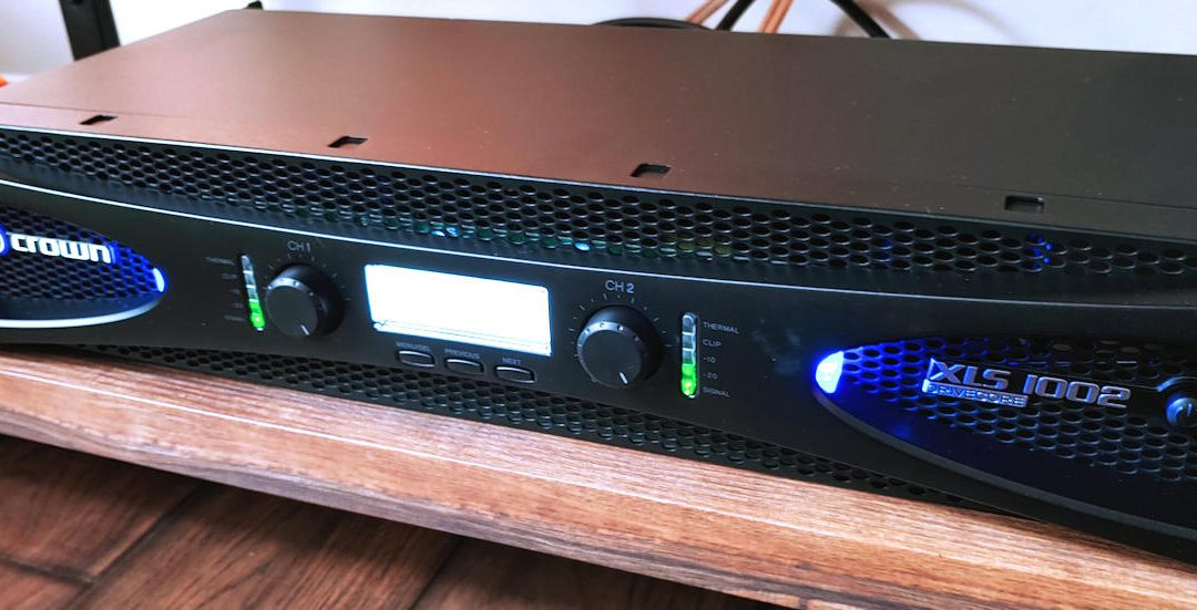 Crown XLS1002 Review As A Subwoofer Amp