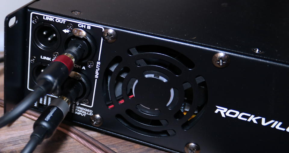 RPA12 amp back panel detail shot