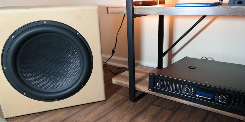 Rockville RPA12 with the Dayton Audio Ultimax 15